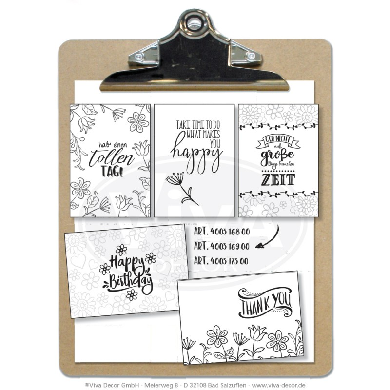 Clearstamps Lettering Happy