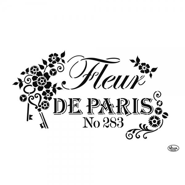 Universalschablone Fleur de Paris