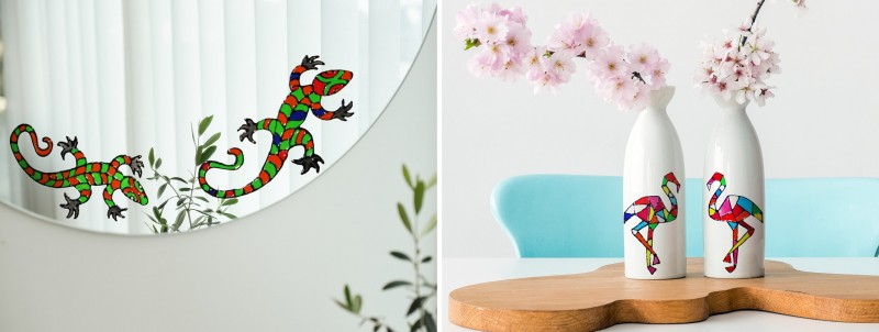 Window Color, Anwendungsideen