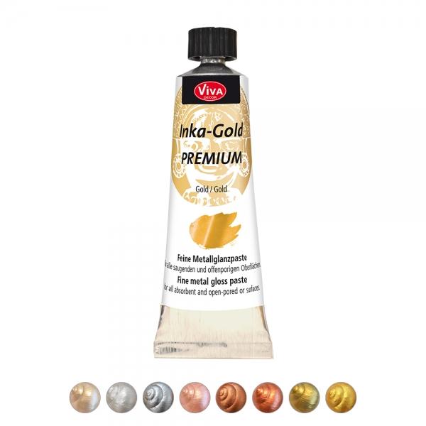 Inka-Gold Premium in 8 verschiedenen Farben