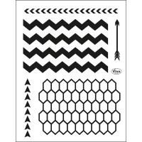 Clearstamps Stempel für grafische Muster-Hintergründe