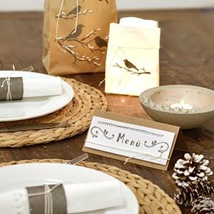 Clear Stamp ANleiung - Tischdekoration