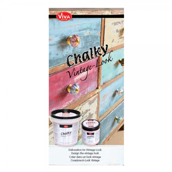 Flyer Chalky Vintage Look