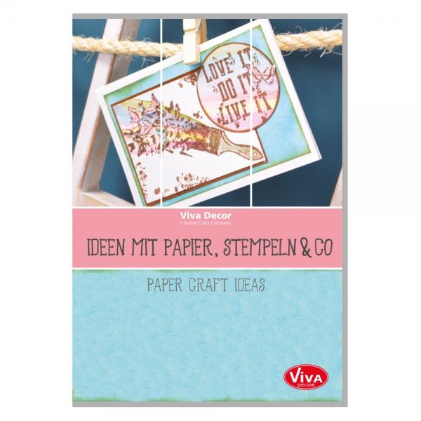 Broschüre Ideen mit Papier, Stempeln & Co.