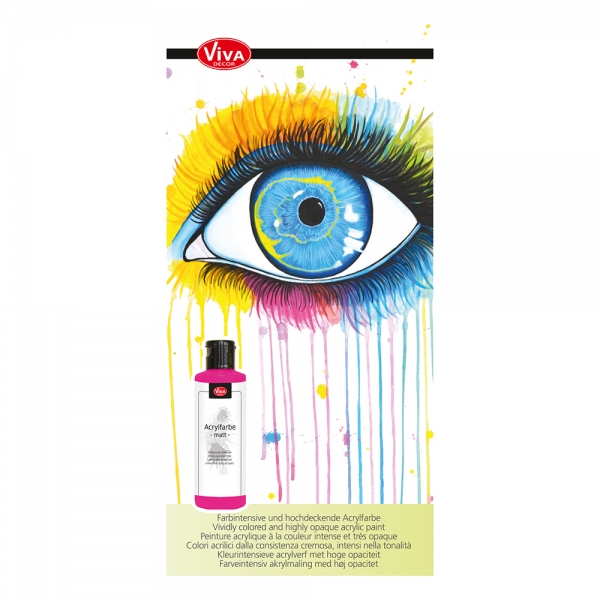 Flyer Acrylfarbe