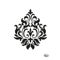 Universalschablone DIN A5 Ornament