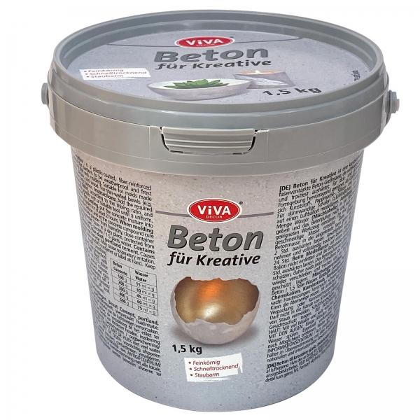 Beton zum Gießen für Kreative 1,5 kg Eimer