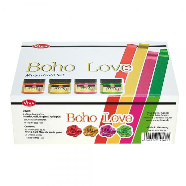 Maya-Gold Set Boho Love - Verpackung