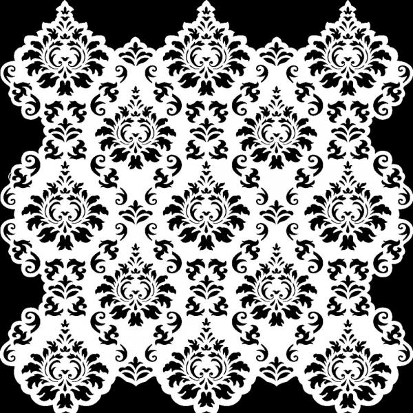 Hintergrund-Universalschablone mit Ornament-Muster