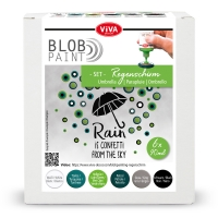 Blob Paint-Set Regenschirm