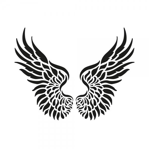 Universalschablone Flügel
