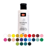 Acrylfarbe in 24 Farbtönen