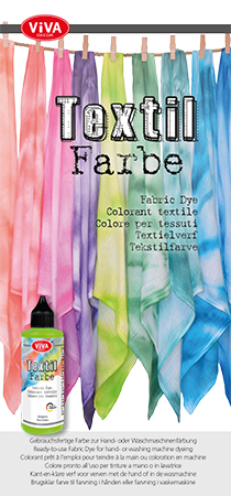 Anleitung für die Textilfarben