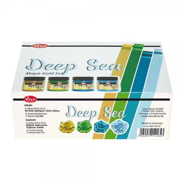 Maya-Gold Set Deep Sea - Verpackung