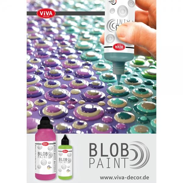Poster DIN A3 Blob Paint