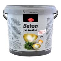 Beton zum Gießen für Kreative 5 kg Eimer