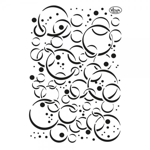Universalschablone Blasen