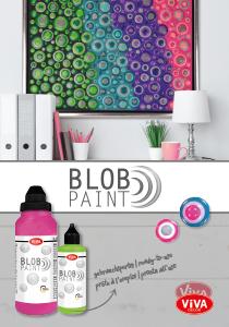 Blob Paint Broschüre