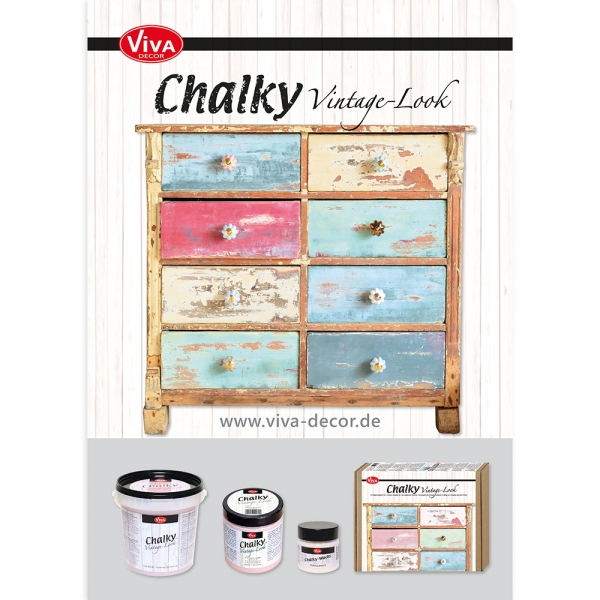 A3 Poster Chalky Vintage-Look