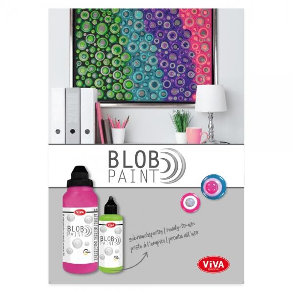 Blob Paint Broschure - 36 Seiten