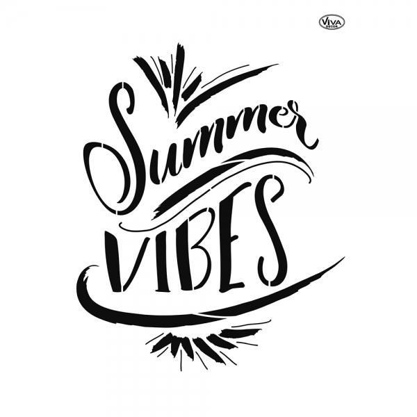 Universalschablone Summer Vibes