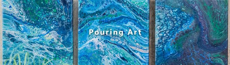 Pouring Art - fertig gemischte gebrauchsfertige Gießfarben