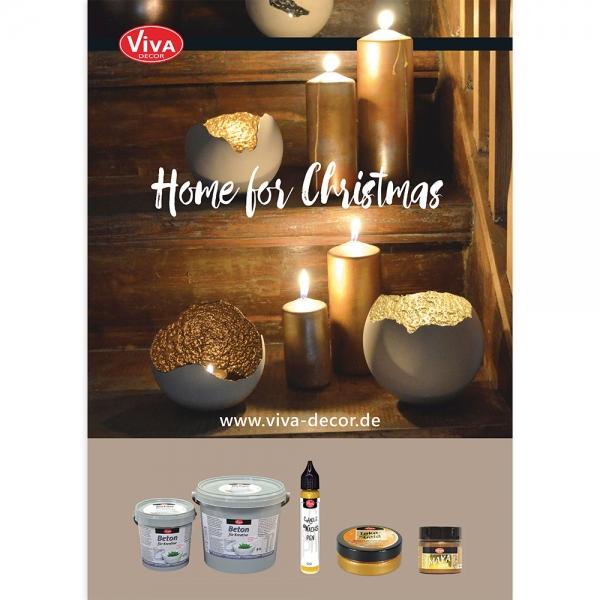 A3 Poster Beton für Kreative Weihnachten