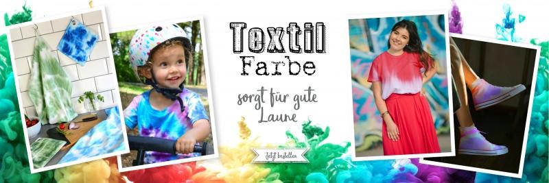 Banner für Textilfarbe Fabric Dye