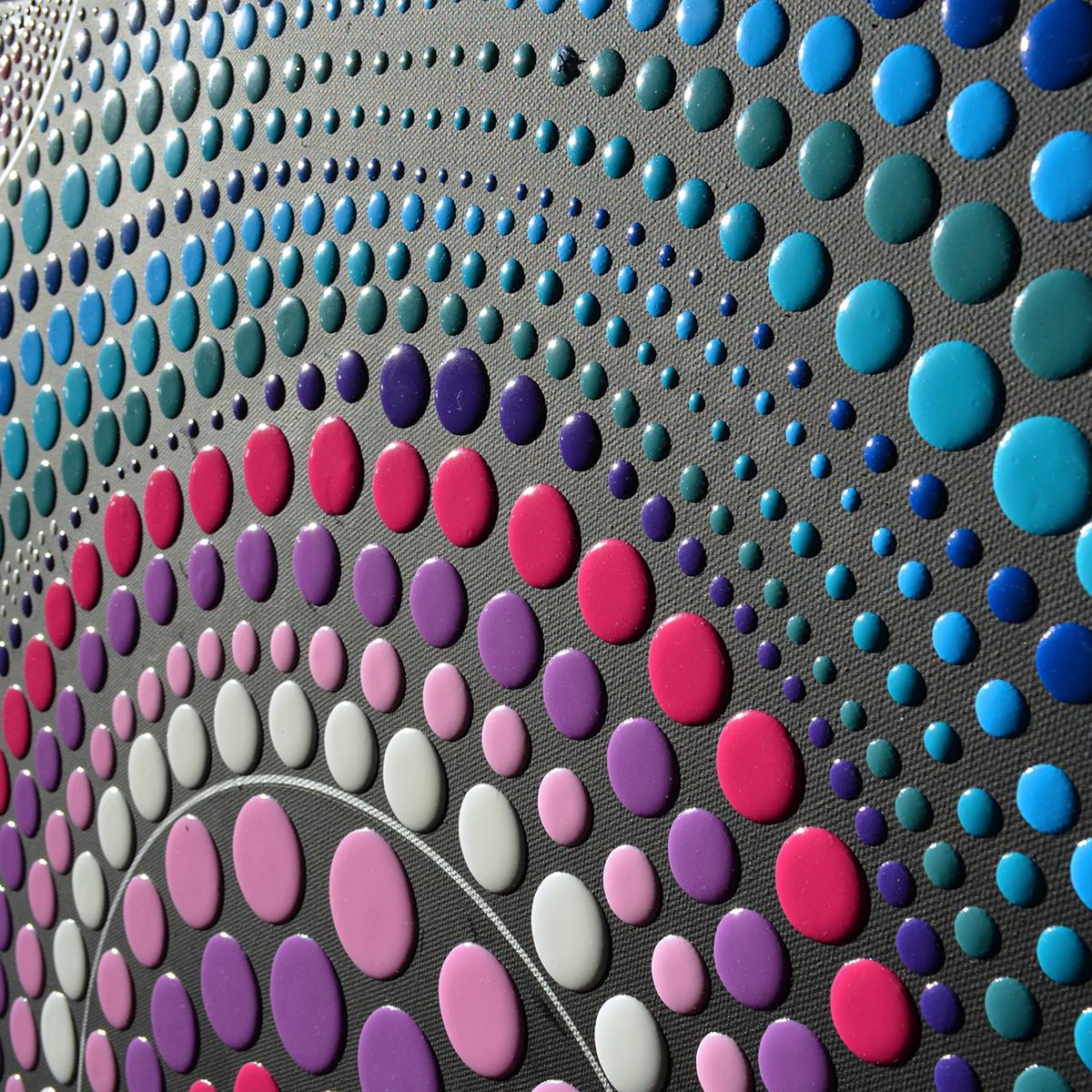 Blob Paint Bild - Wellen