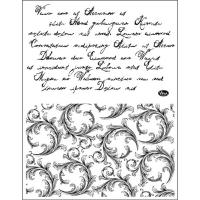 Clearstamps Schrift und Schnörkel