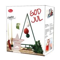 Chalky Vintage-Look God Jul Verpackung