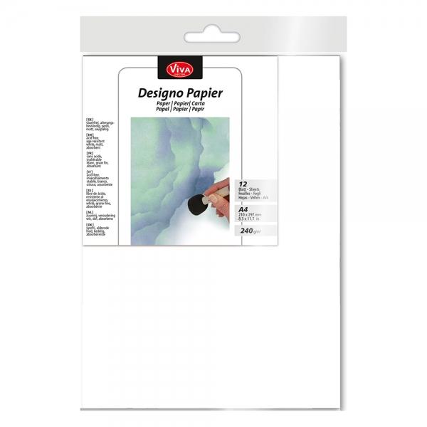 My Paper World Designo Papier DIN A4 12 Blatt