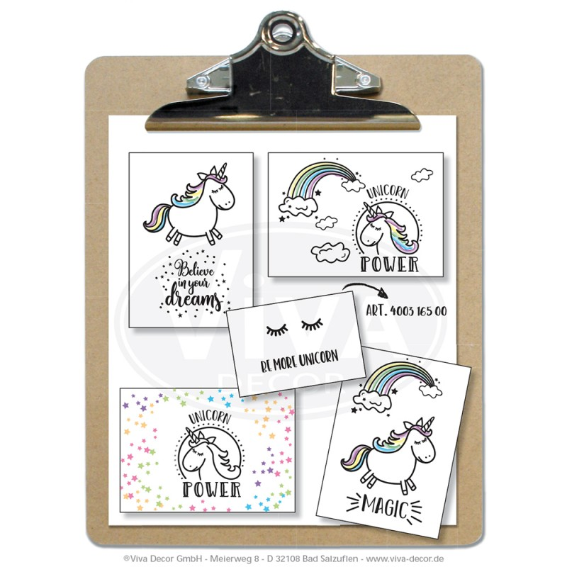Clearstamps Unicorn