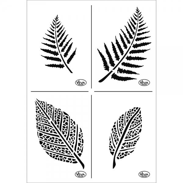 Universalschablone A4 Blätter