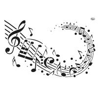 Universalschablone Musik