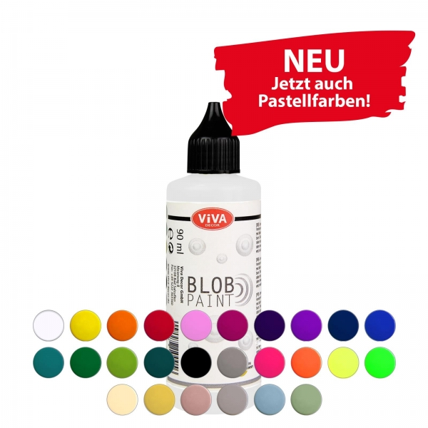 Blob Paint 90 ml in 20 verschiedenen Farben