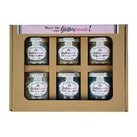 Glitterfreude 6er Glitzerpasten-Set - Verpackung