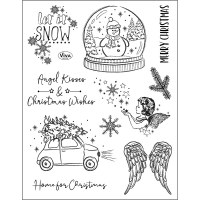 Silikonstempel-Set Angel Kisses