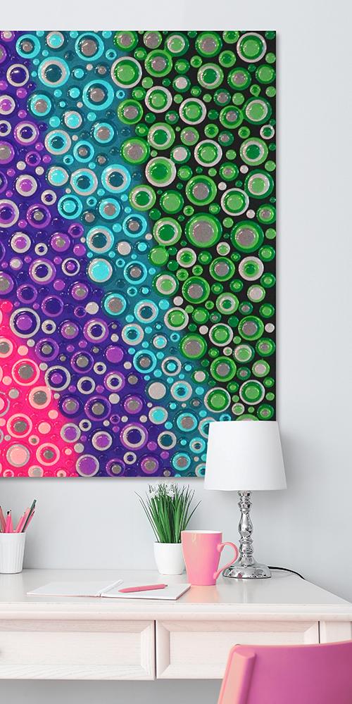 Blob Paint Farbwellen